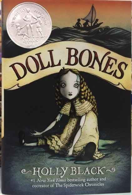 Doll Bones with newbery